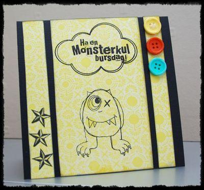 Monsterkul-bursdag